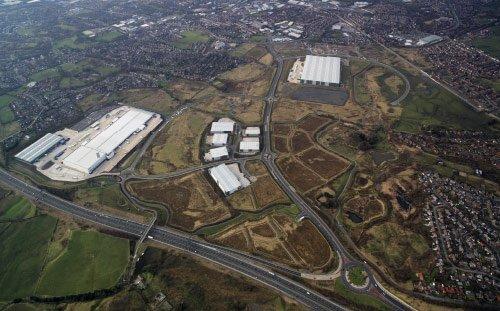 Kingsway Business Park, Aerial