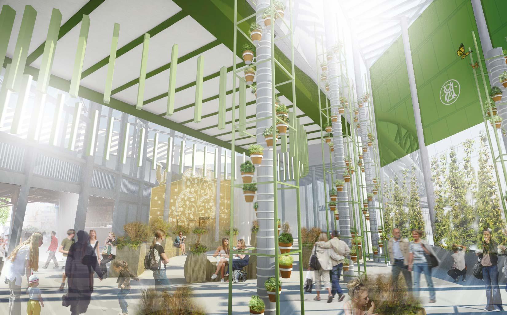 Borough Market, 3D Visual