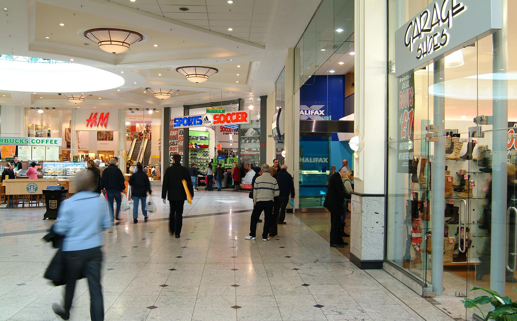 Meadowhall, Sheffield, Refurbished Stores