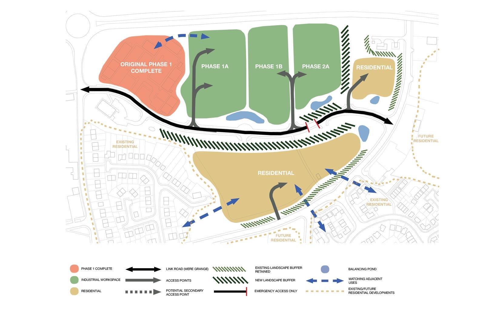 Mere Grange, St Helens, Site Plan