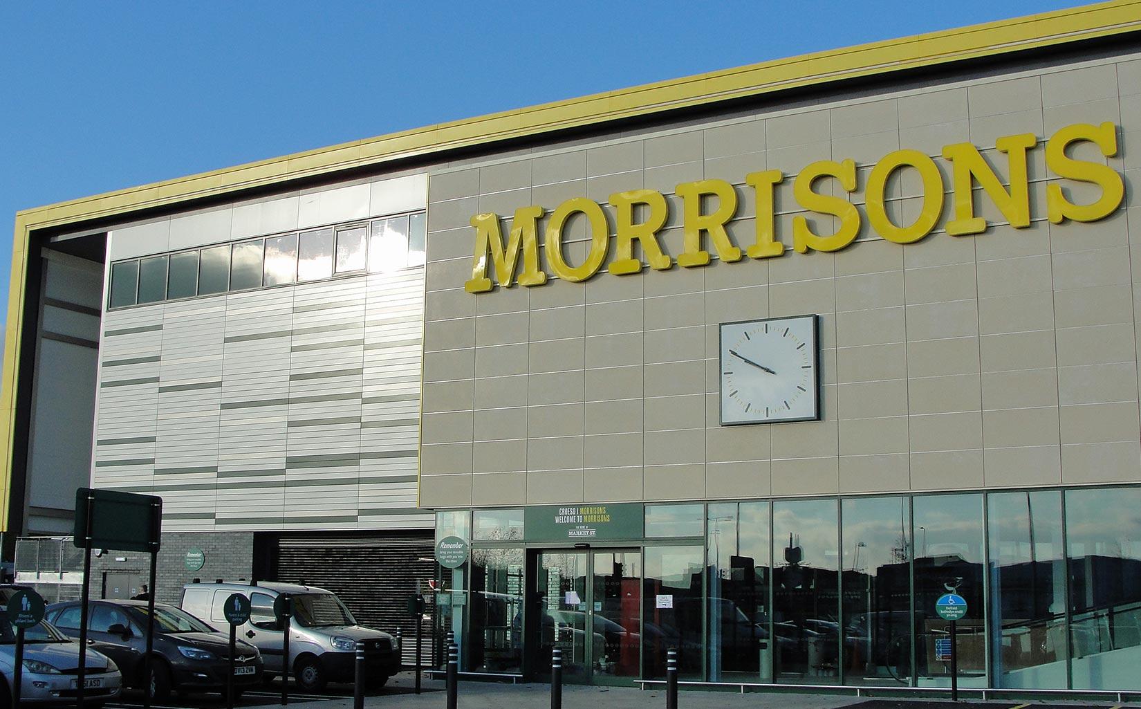 Morrisons Cardiff, Entrance