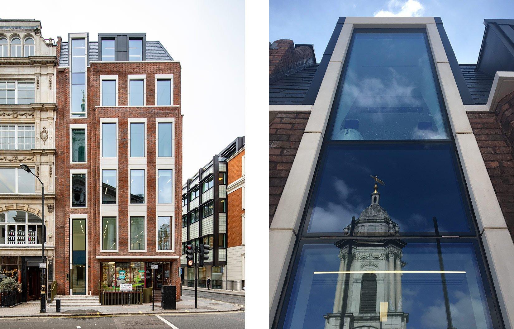 Nash House, Mayfair, London, Exterior