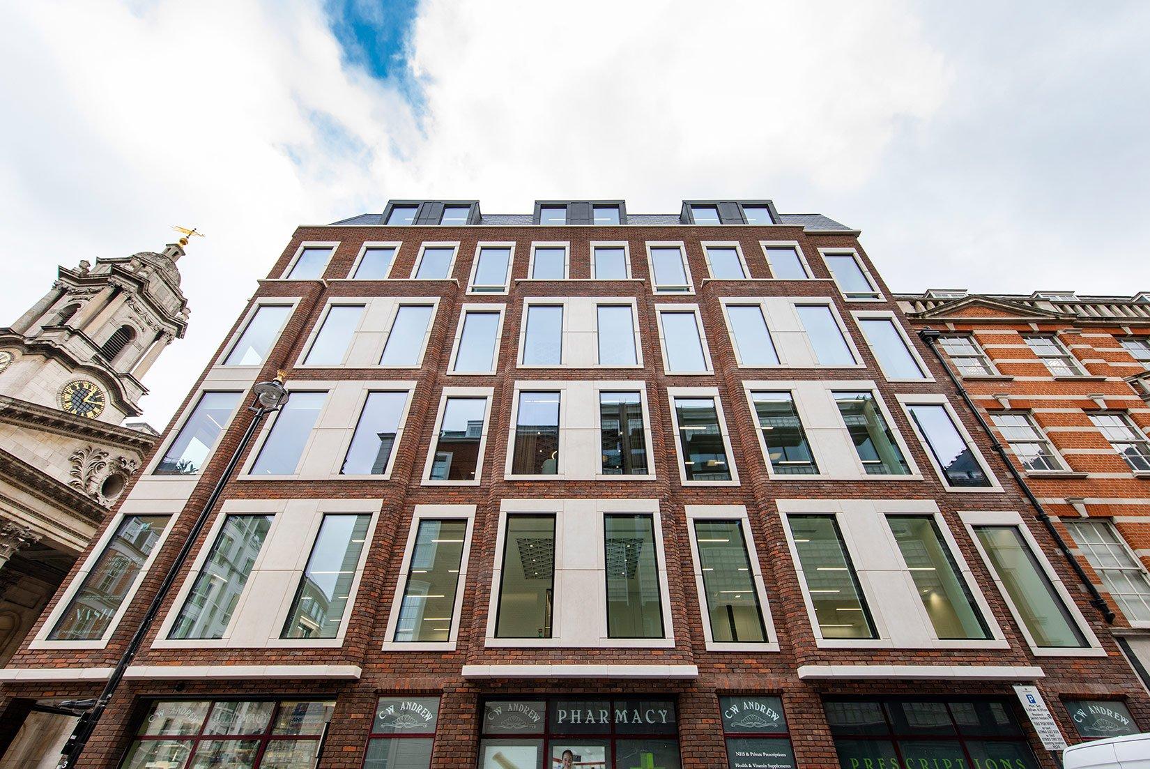 Nash House, Mayfair, London, New Façade