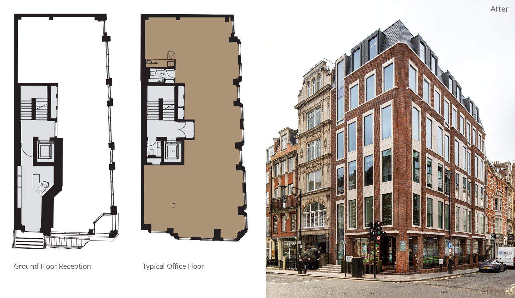 Nash House, Mayfair, London, Floor Plans & New Façade