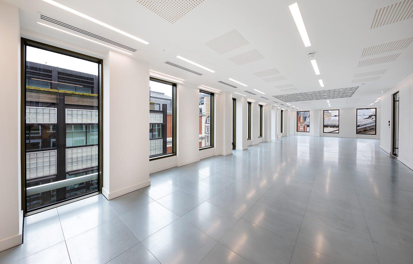 Nash House, Mayfair, London, Floor Plate