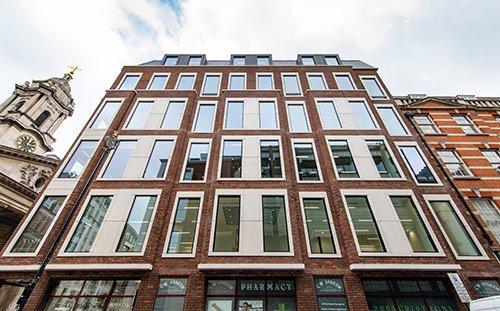 Nash House, Mayfair, London, Façade