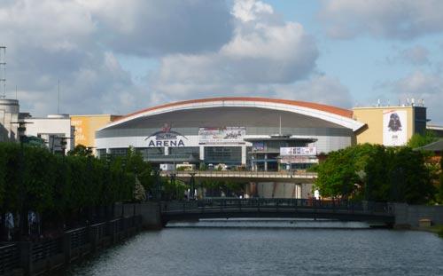 Oberhausen Arena, Germany, entrance