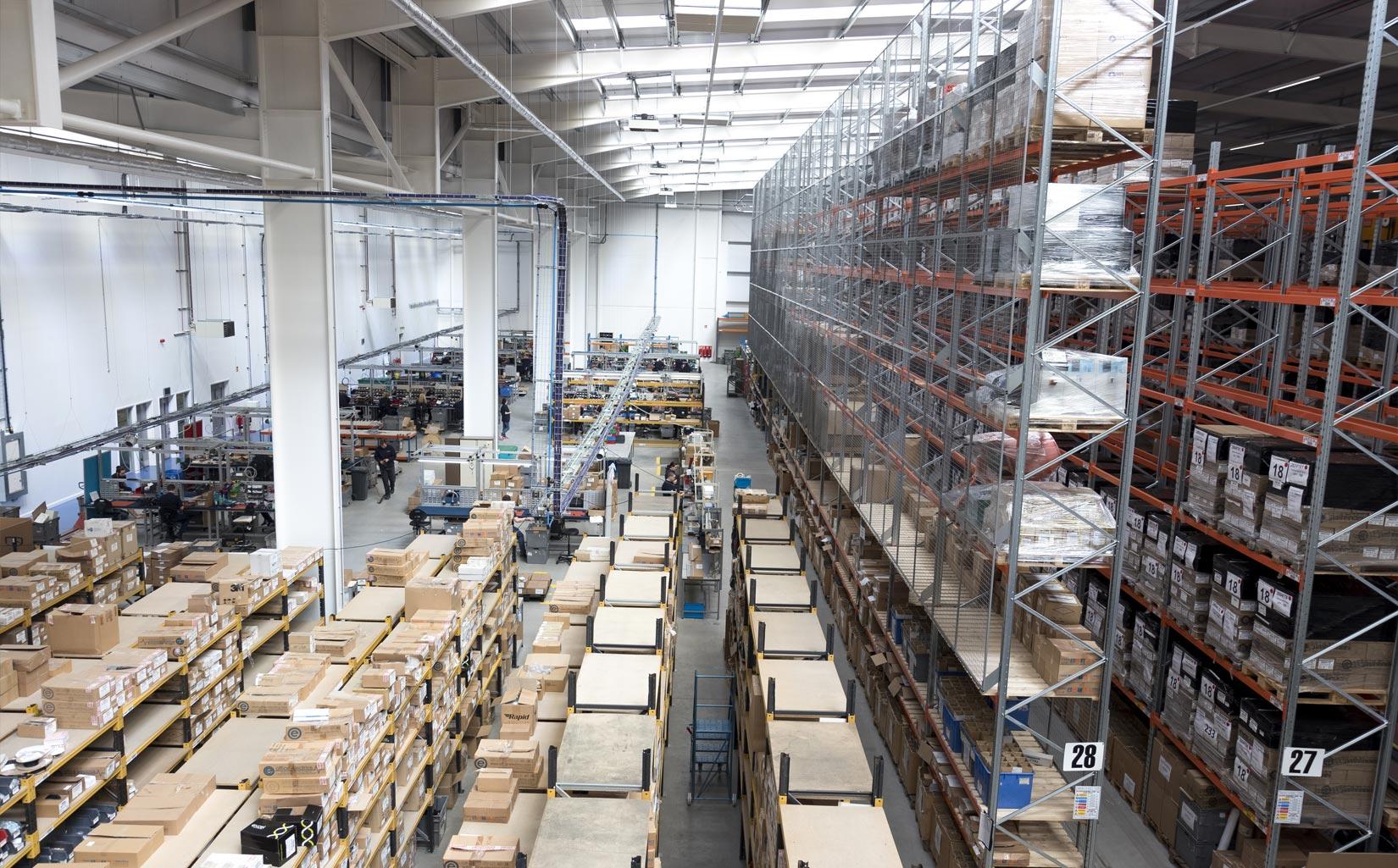 OE Electrics, Wakefield, Warehouse