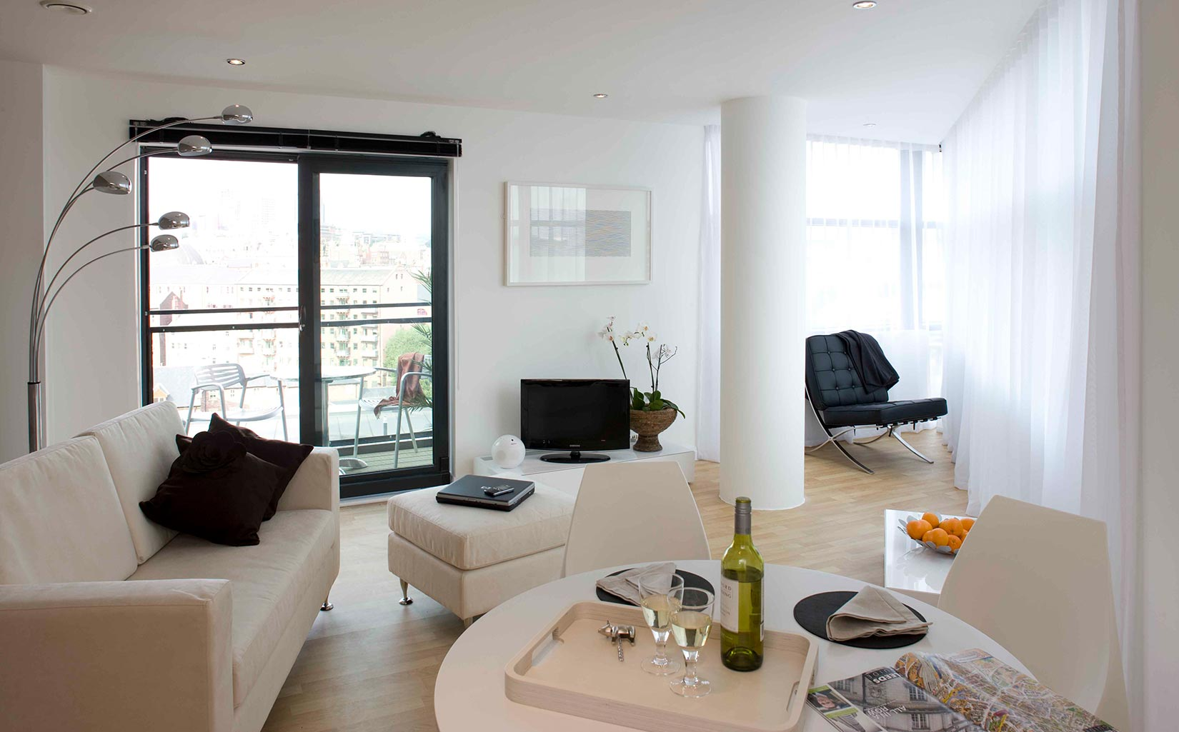 One Brewery Wharf, Leeds, Interior living space