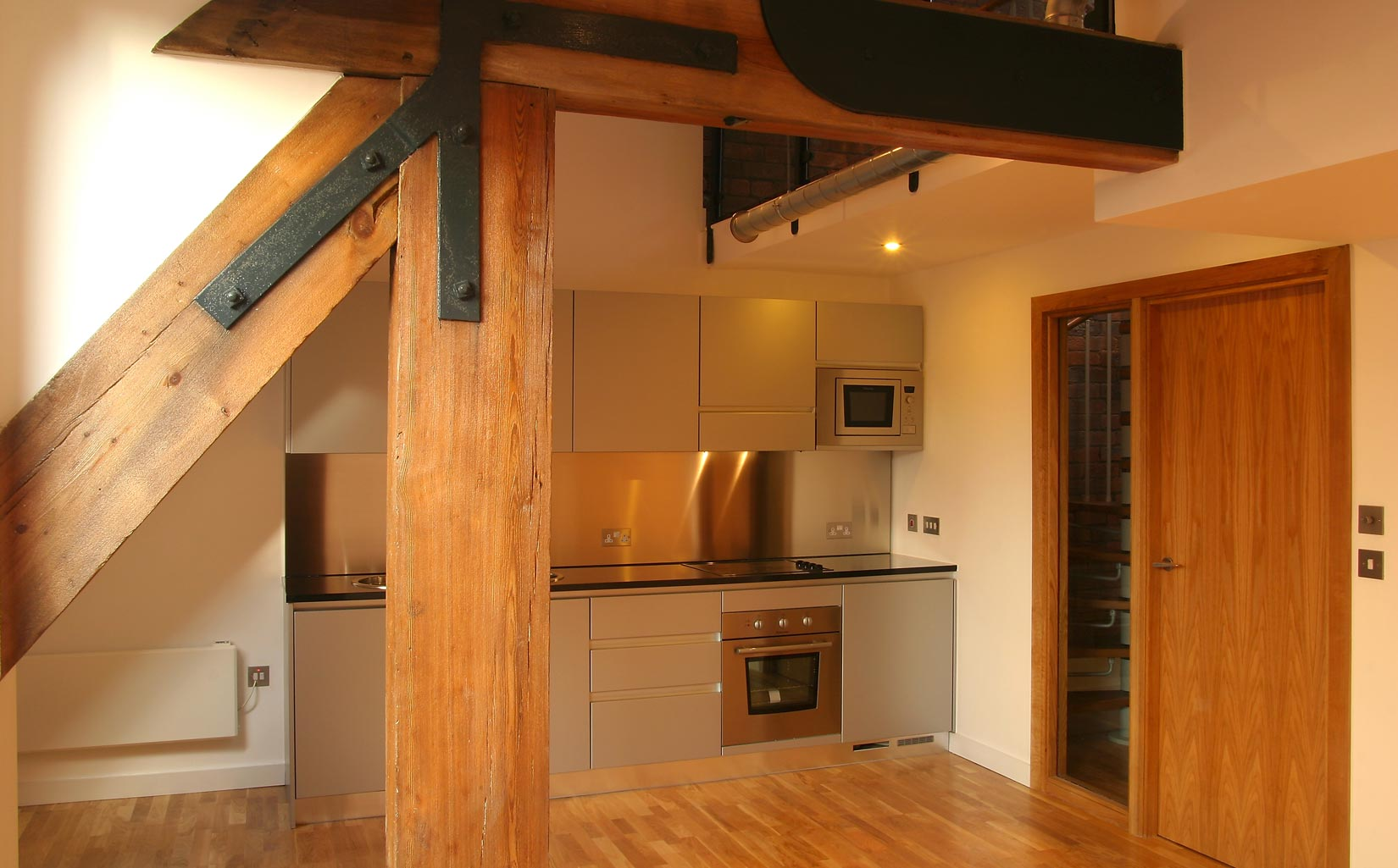 Roberts Wharf, Leeds, Interior Living Space