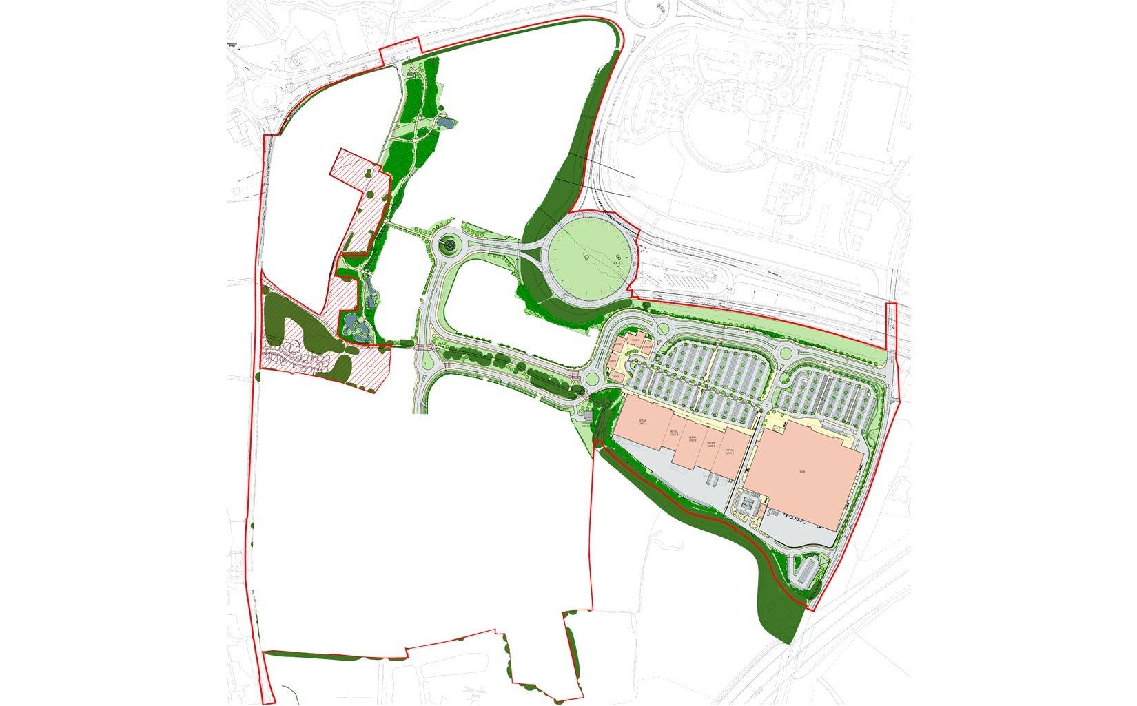Cuerden Strategic Site, Central Lancashire,