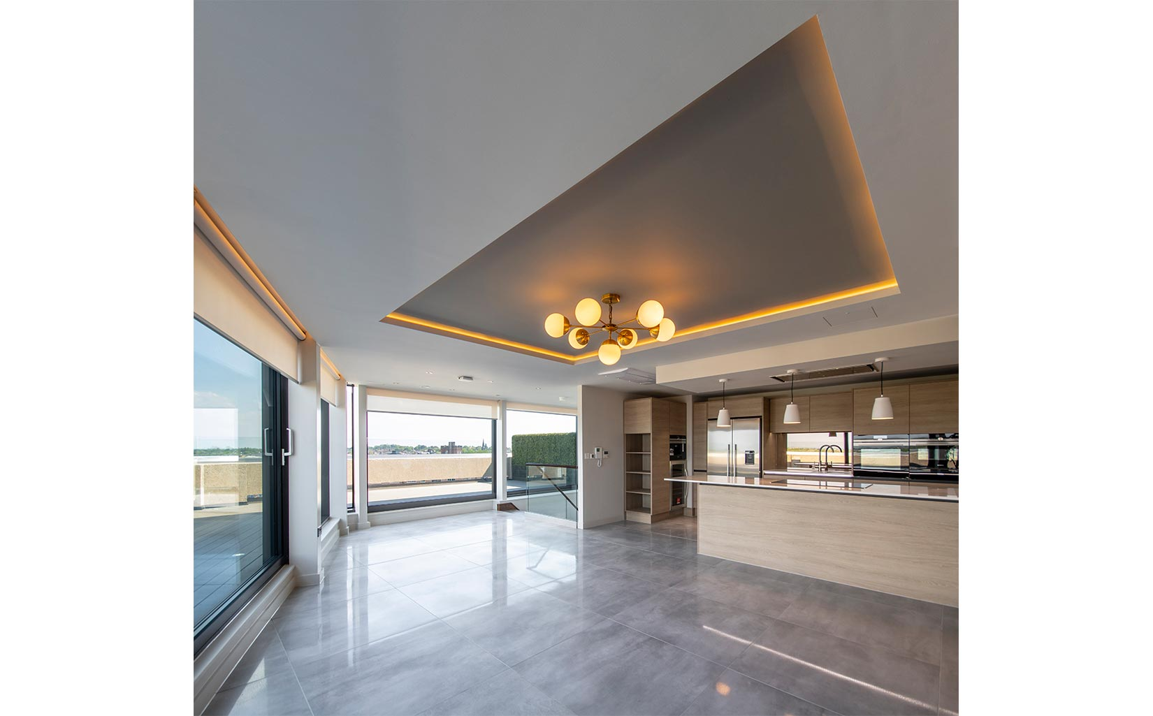Stonebow House, York, Interior of penthouse - Photograph © Oakgate Developments Plc