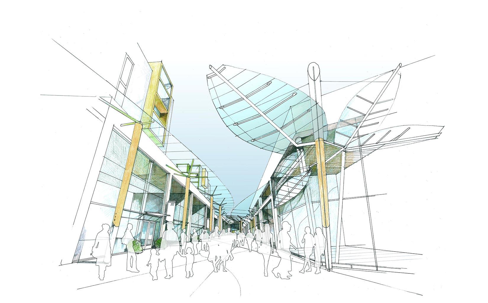 Trinity Walk, Wakefield, Sketch Concept Stores