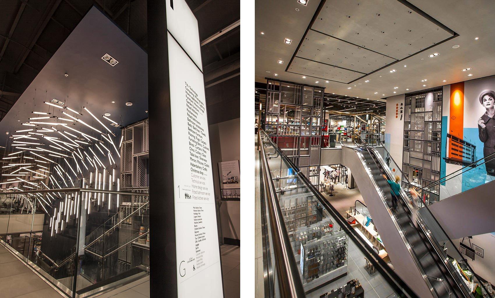 Vangarde Shopping Park, York, Store Interiors