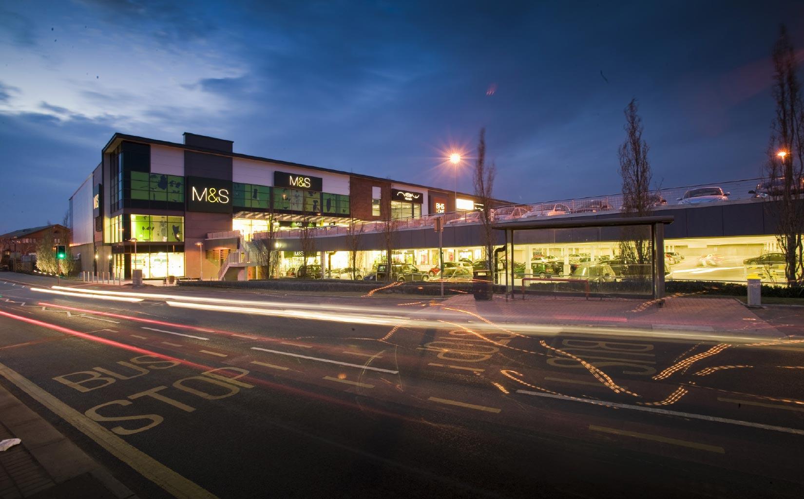 Widnes Shopping Park, M&S Entrance