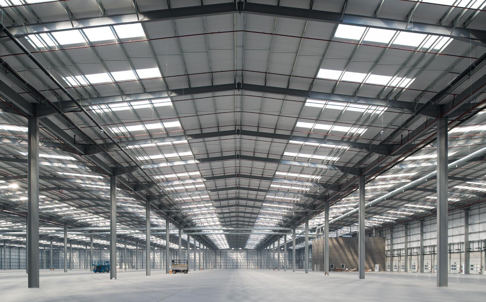 B & M Bargains Distribution Centre, Liverpool, Inside