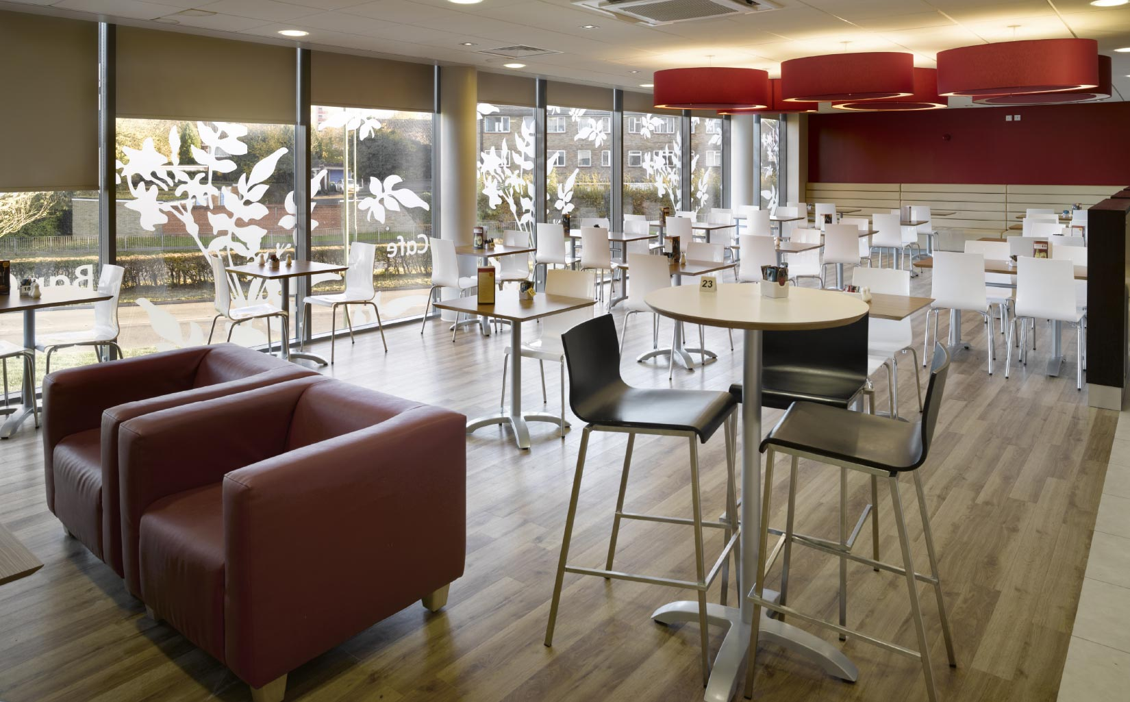 Travelodge, Hemel Hempstead, Cafe Interior