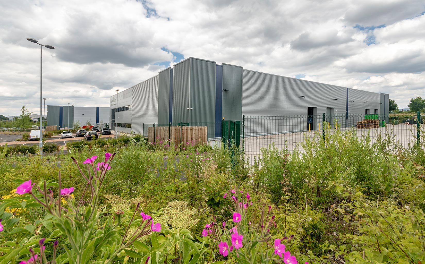 Kingsway Business Park, Milnrow, Rochdale, Cleland Mclver Landscaping