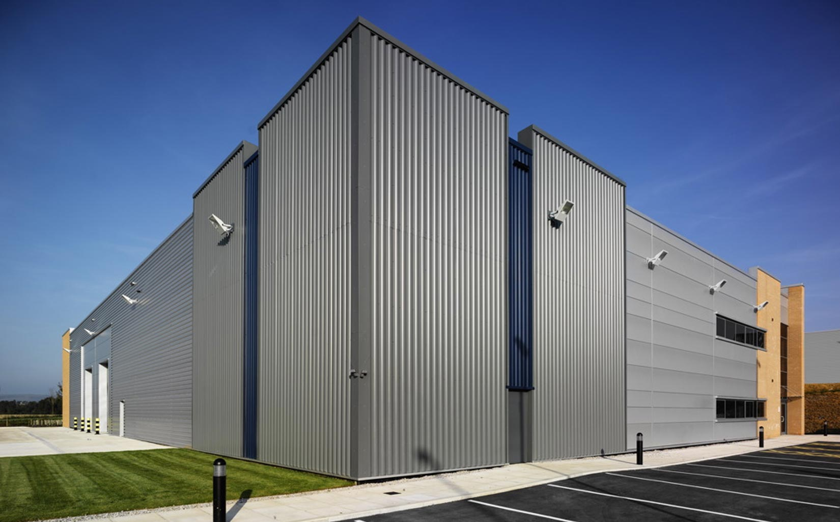 Kingsway Business Park, Milnrow, Rochdale, Cladding Detail