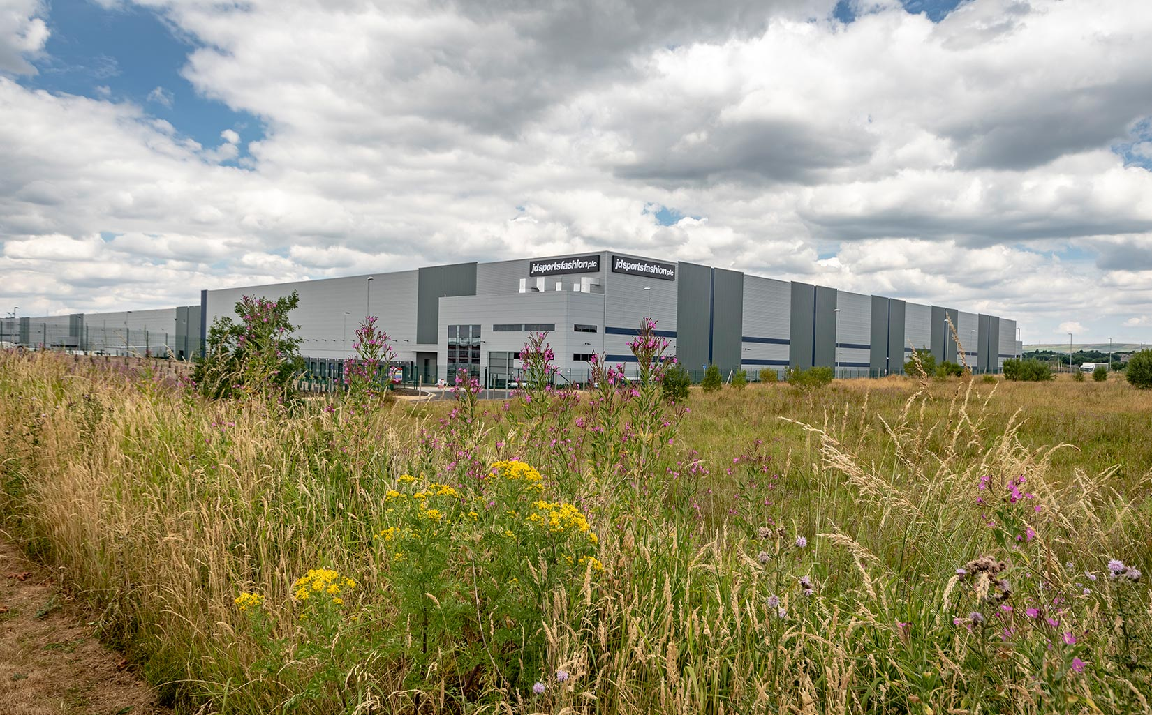Kingsway Business Park, Milnrow, Rochdale, JD Sports Fasion Landscaping