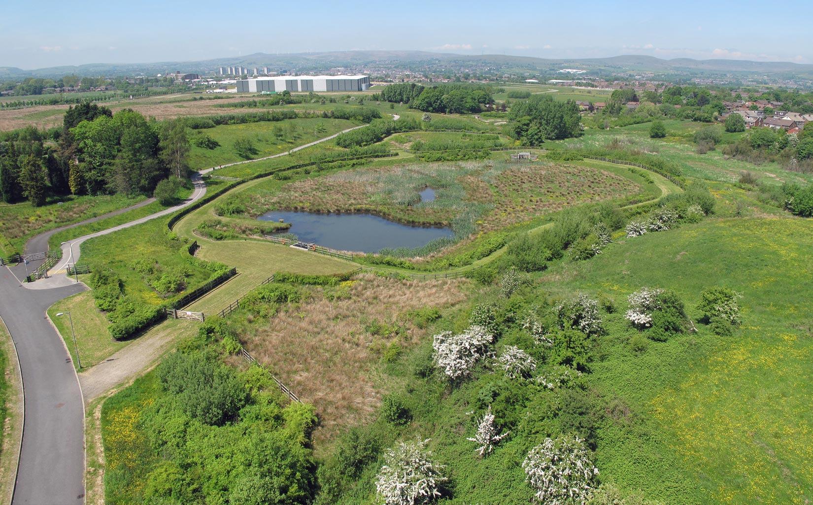 Kingsway Business Park, Milnrow, Rochdale, Landscape Design