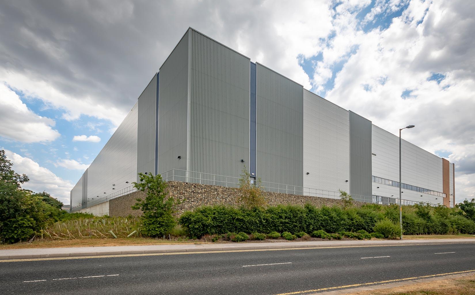 Kingsway Business Park, Milnrow, Rochdale, WCCTV Unit Approach
