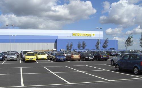 Morrisons Sittingbourne Distribution Centre, Entrance