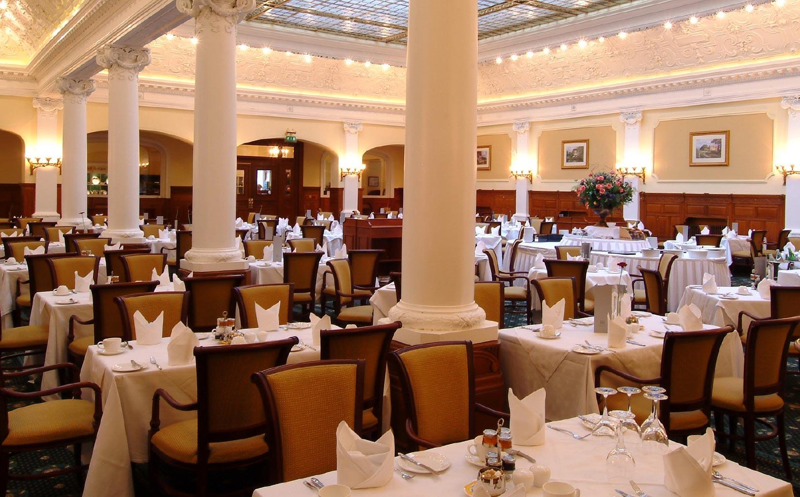 Old Swan Hotel, Harrogate, Dining Room
