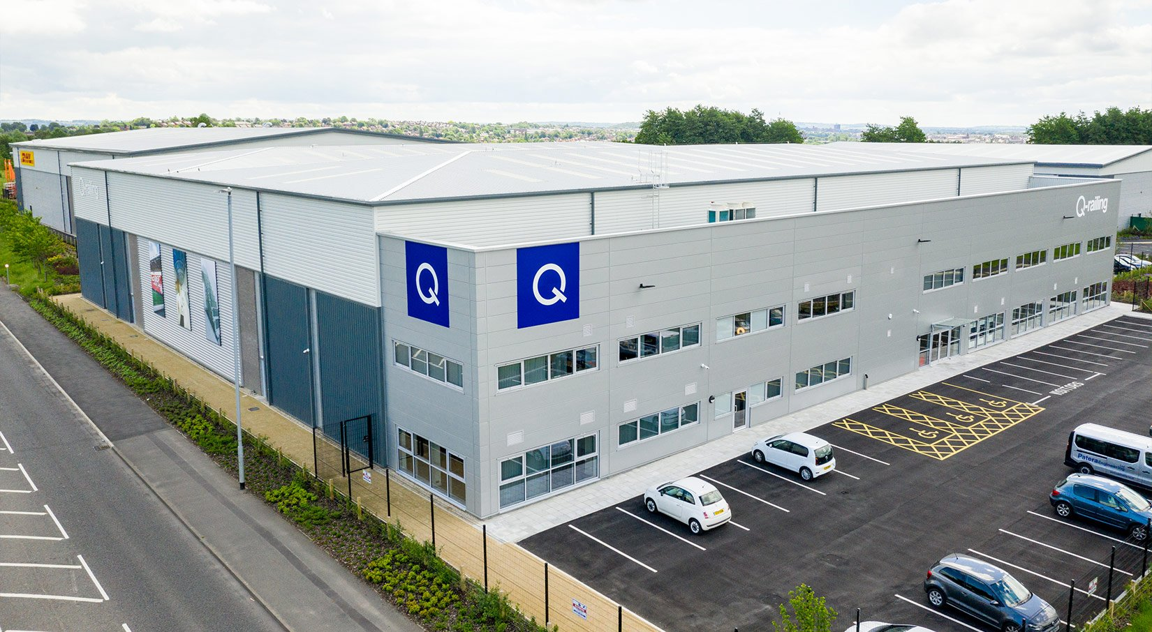 Tunstall Arrow, Stoke-on-trent, Unit 1 aerial