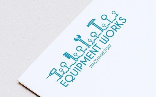 Equipment Works, London, Branding Logo
