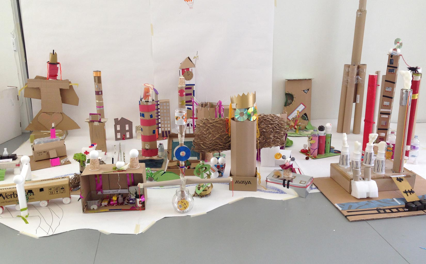 Family Architecture Day, Hepworth Gallery, Wakefield, model