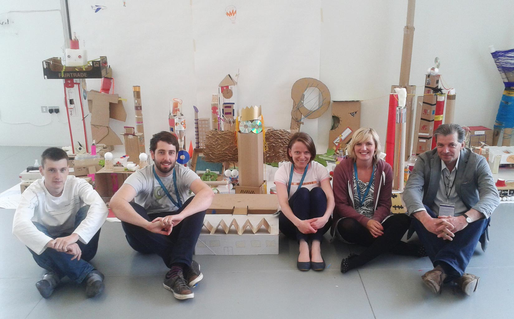 Family Architecture Day, Hepworth Gallery, Wakefield, Team