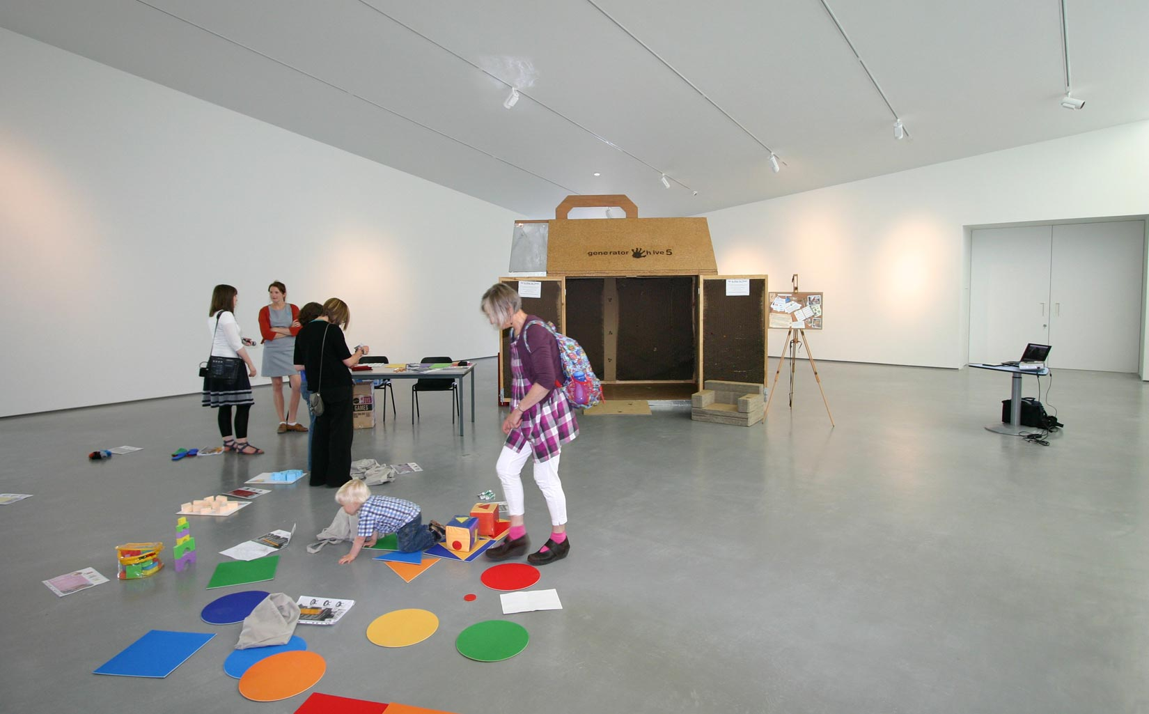 The Generator Project, Wakefield, The Hepworth Gallery