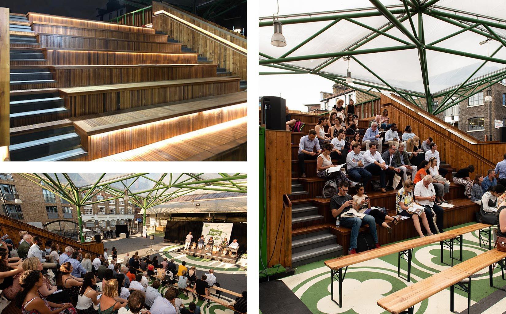 Jubilee Place, Borough Market, London, Podium now open