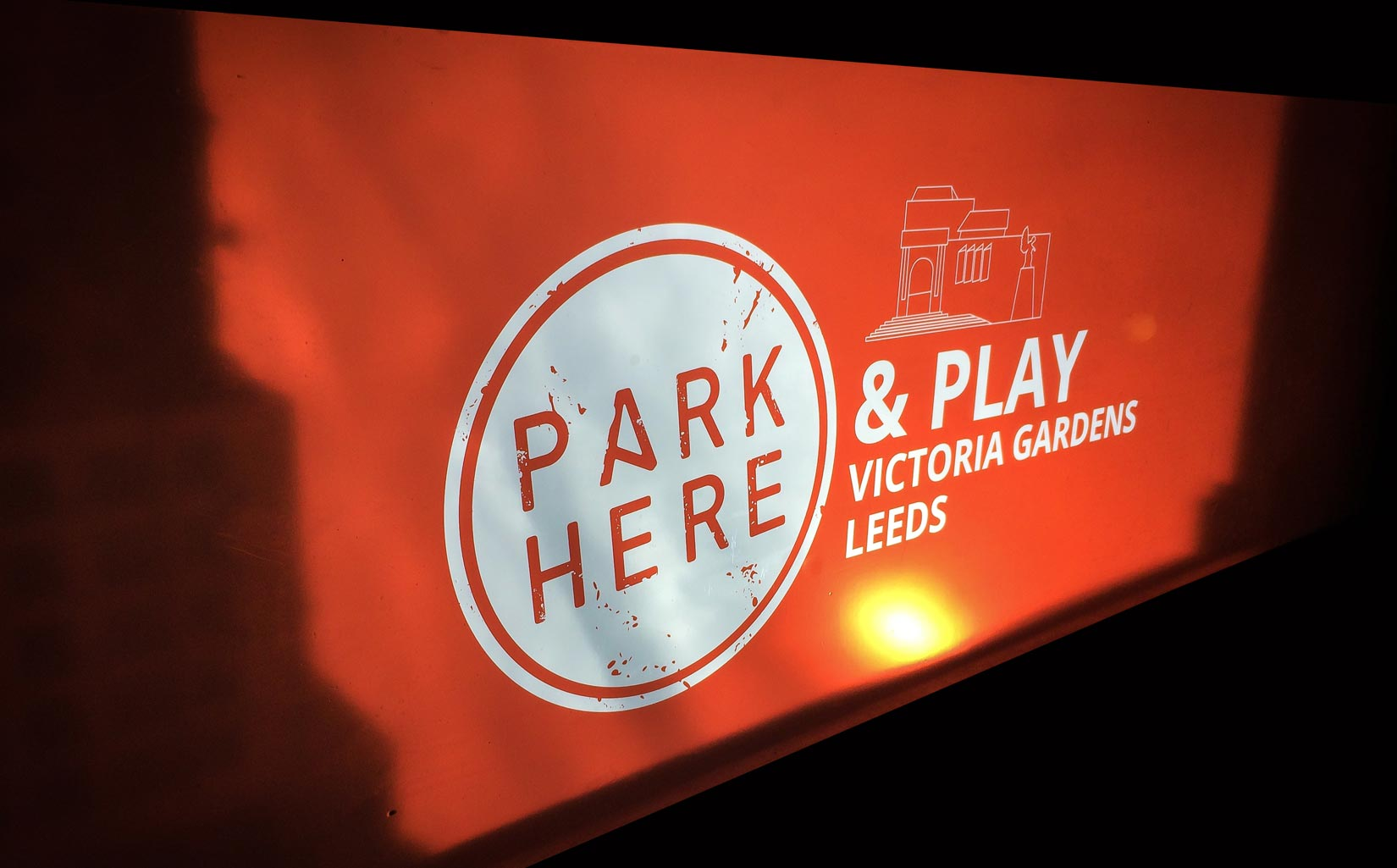 PARK HERE and Play, Leeds, Brand