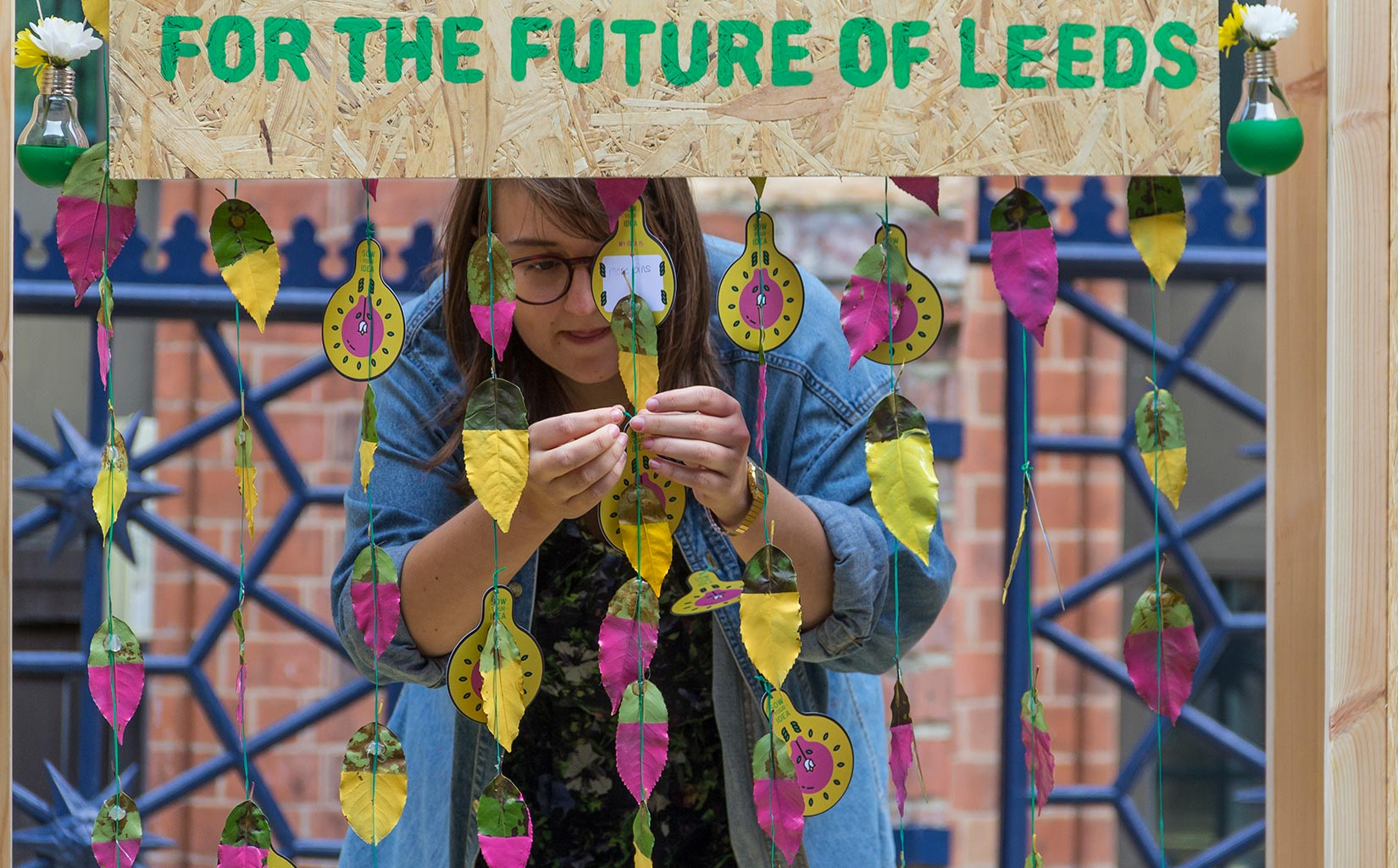 PARK HERE, Leeds, 'Sow a Seed' for the future with Leeds based artist collective Reet So