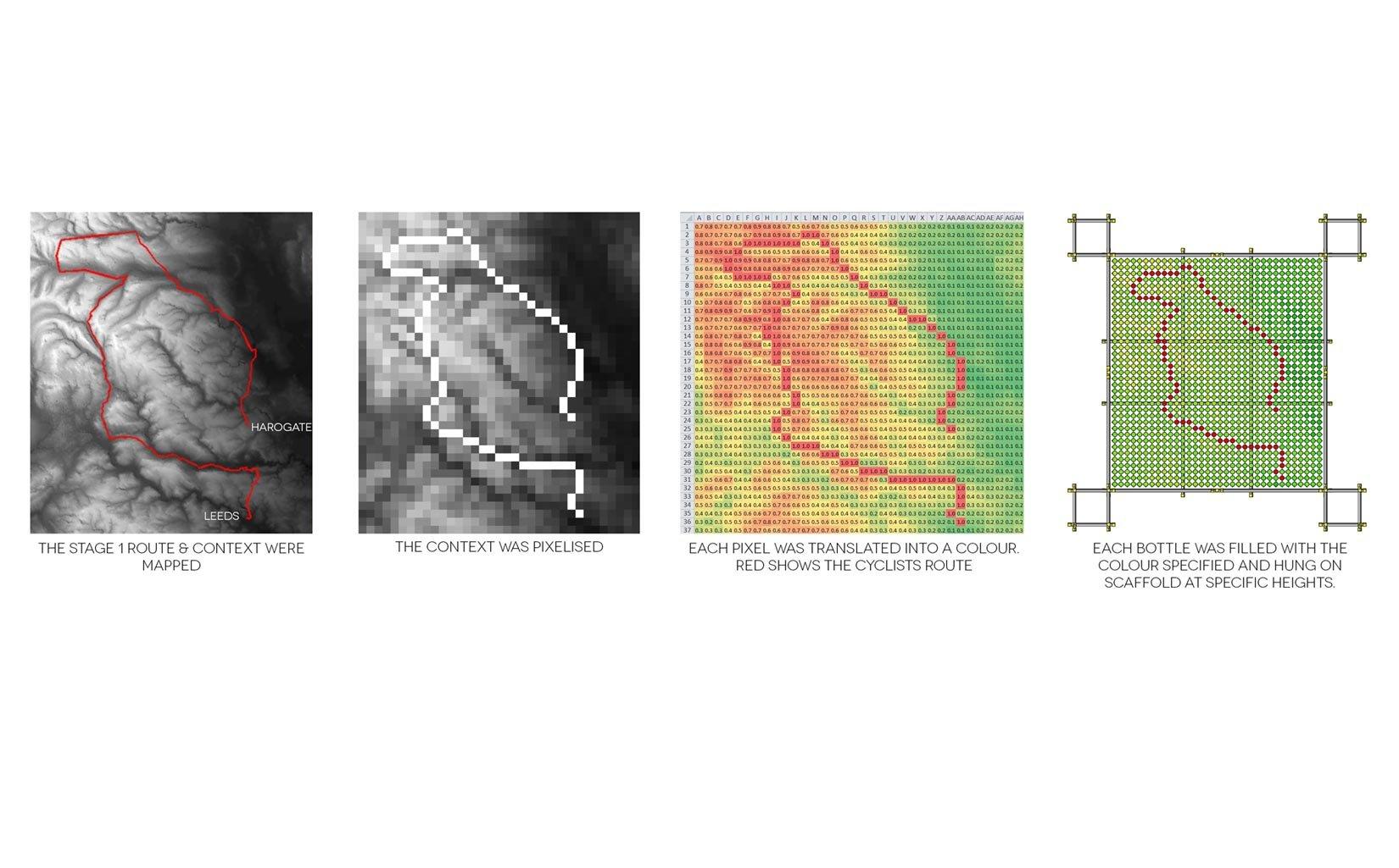 RE:Cycle tour de france, pavilion, concept diagram