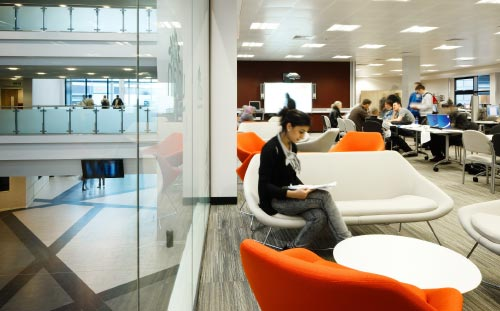 Burnley College, Breakout Space