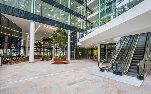 Central Square, Leeds, Atrium
