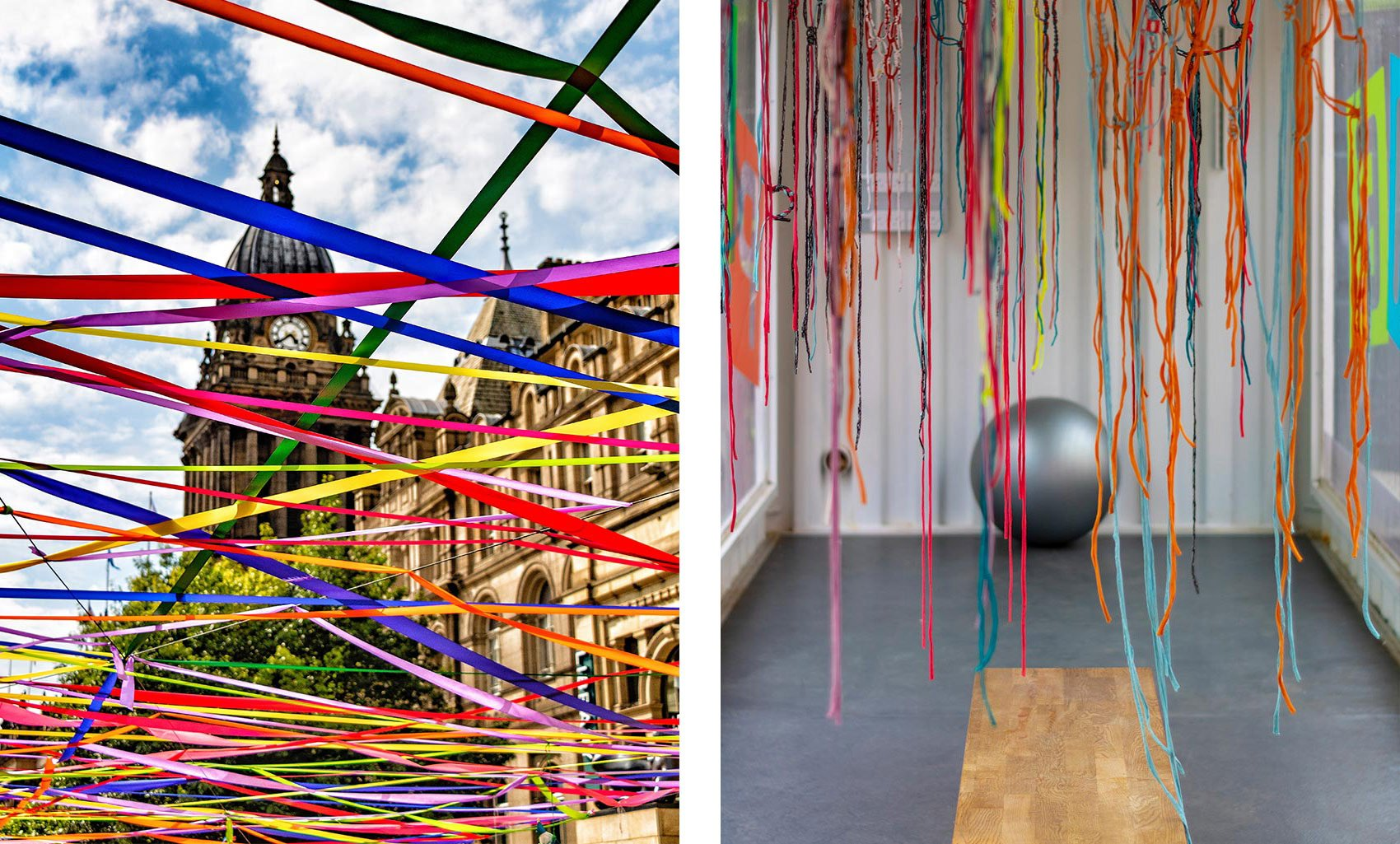 Pop Up and Play, Leeds, Town Hall & Inside the installation