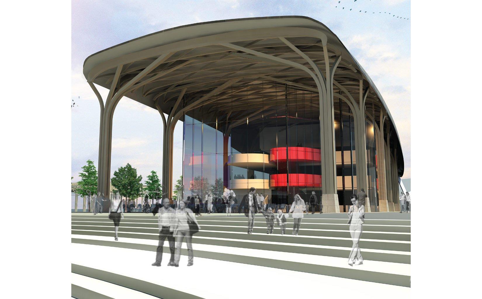 The Salt Market, Northwich, 3D Visual Entrance