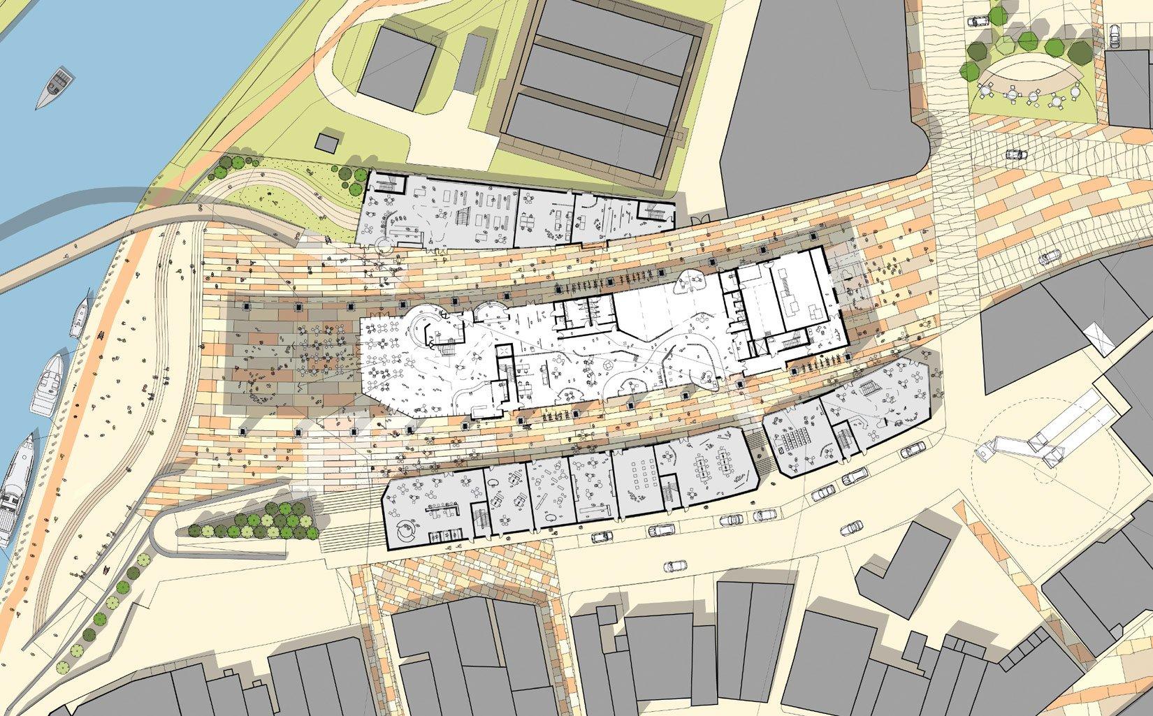 The Salt Market, Northwich, Site Plan