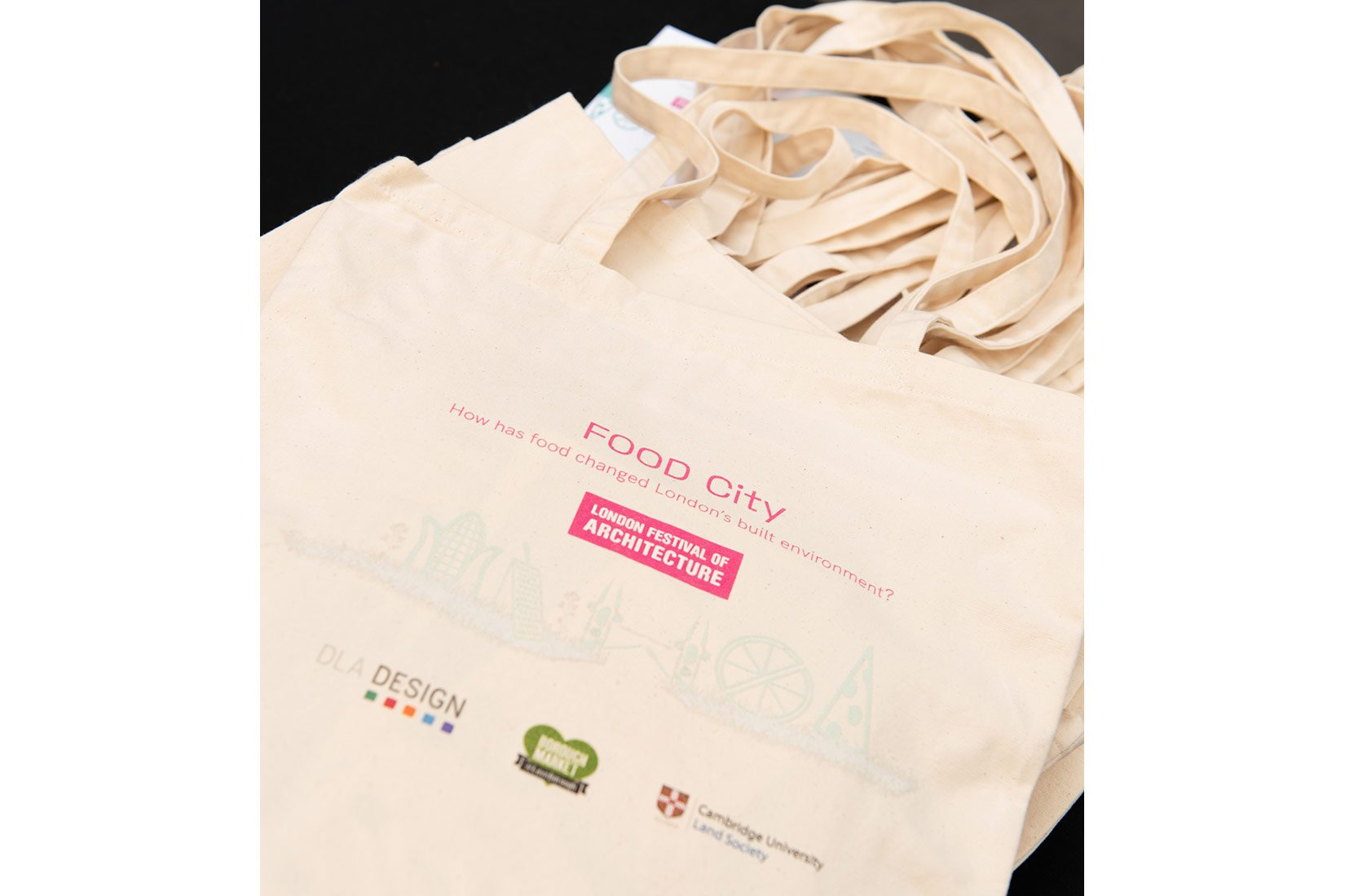 Food City, London Festival of Architecture, Bag