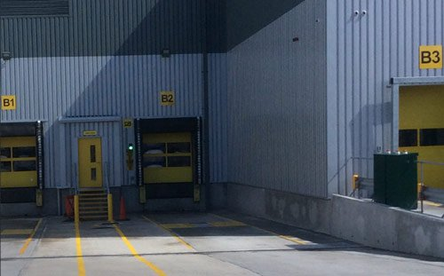Morrisons Meat Processing Plant, Deeside, Exterior Cladding