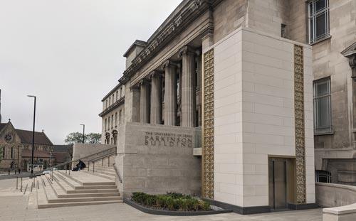 Parkinson Building Steps, University of Leeds, Entrance