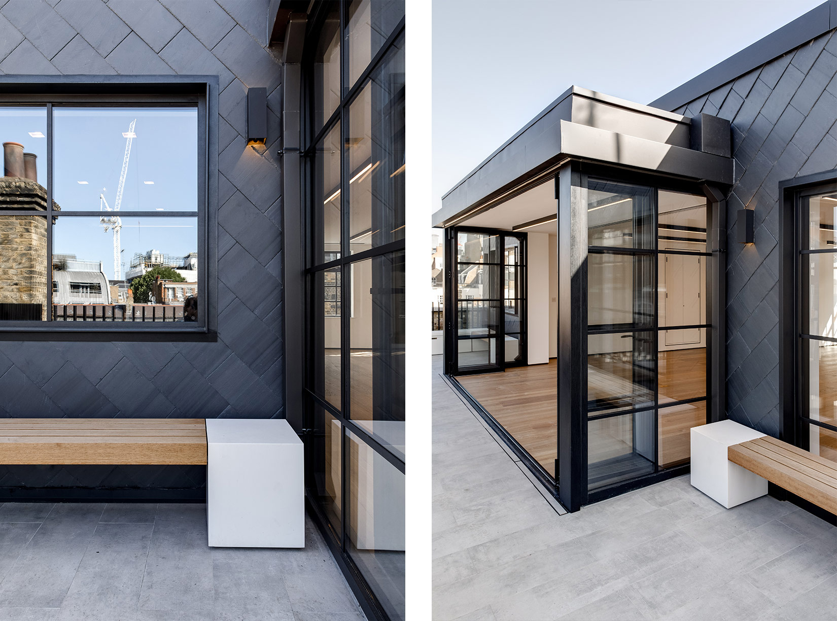 31 Bruton Place, London, Roof terrace