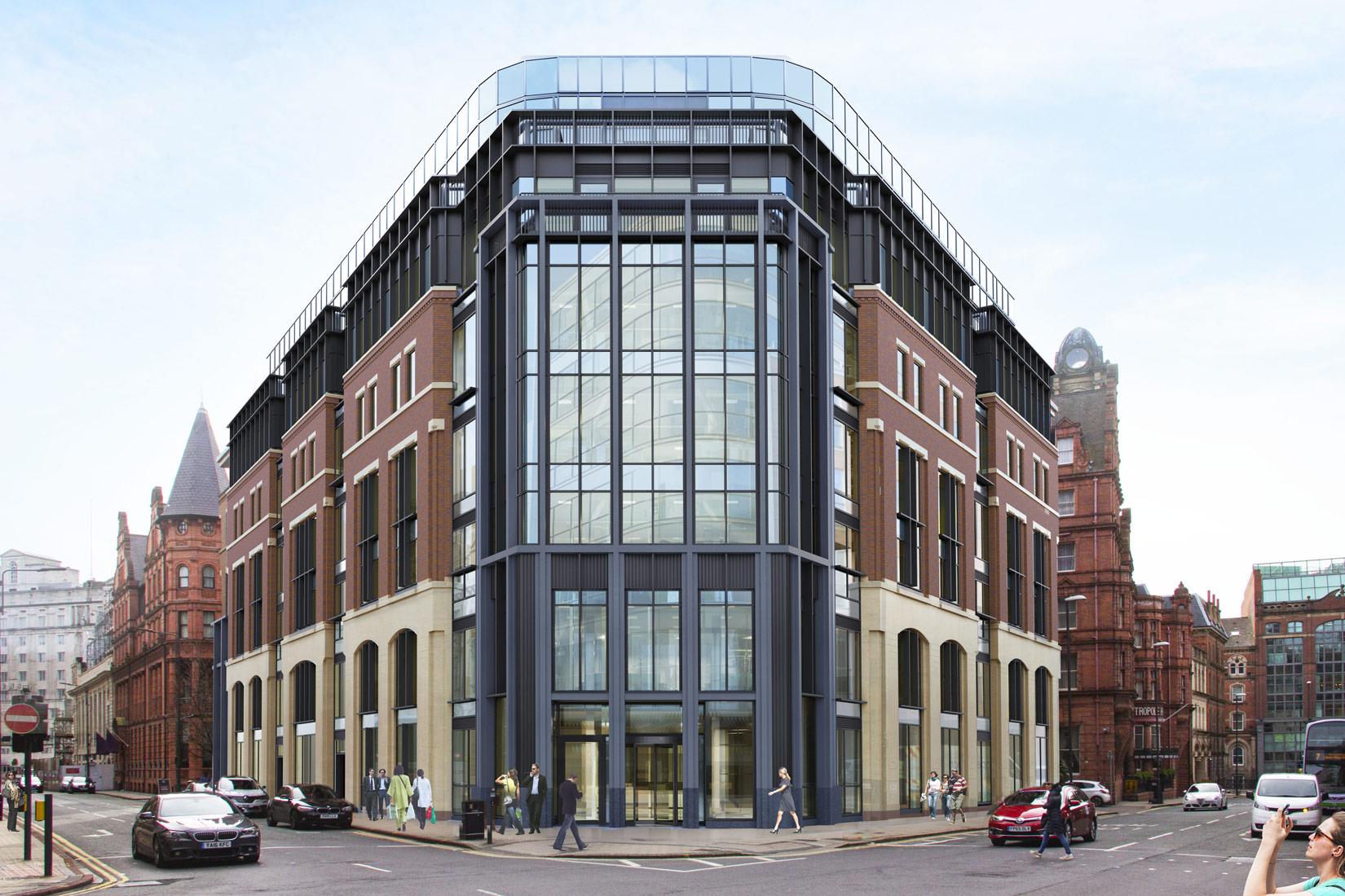 12 King Street, Leeds, 3D visual of exterior