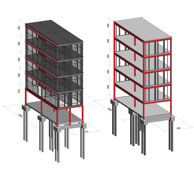 Embodied Carbon, building section