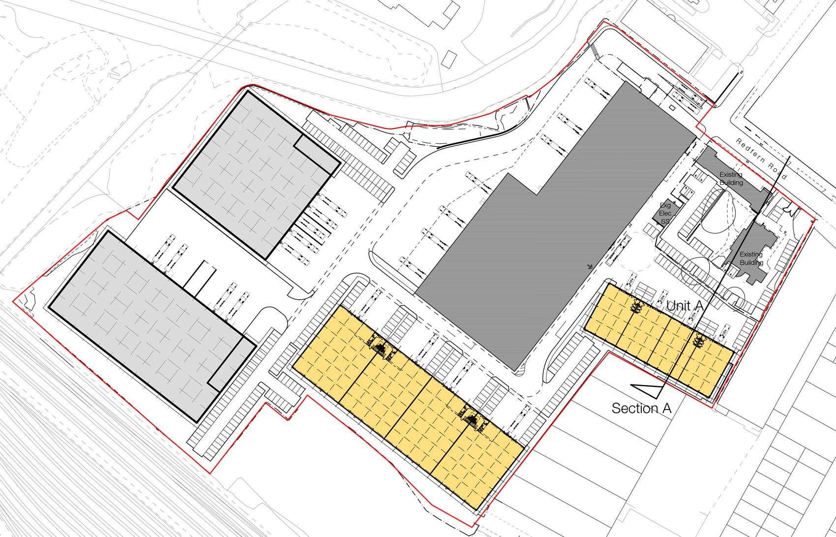 Hay Hall Business Park, Tyseley, Site Plan